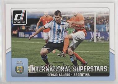 2015 Panini Donruss - International Superstars #45 - Sergio Aguero