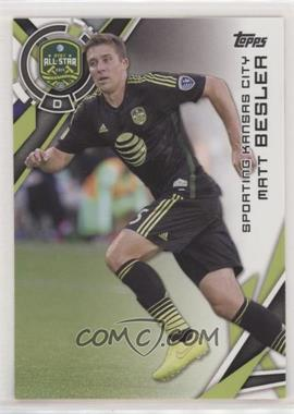 2015 Topps MLS - [Base] #192.2 - SP Variation - Matt Besler (Black Jersey)