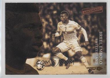 2016-17 Panini Aficionado - [Base] - Artist's Proof Bronze #21 - Breel Embolo /49