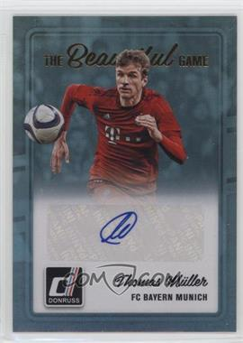 2016-17 Panini Donruss - The Beautiful Game Signatures #BG-TM - Thomas Muller