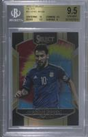 Terrace - Lionel Messi [BGS 9.5 GEM MINT] #25/30