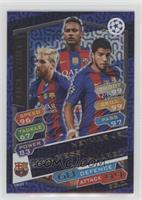Neymar Jr., Lionel Messi, Luis Suarez