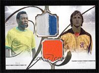 Pele, Johan Cruyff #/49