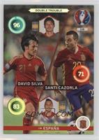 Double Trouble - David Silva, Santi Cazorla