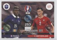 Friends and Foe - Paul Pogba, Stephan Lichtsteiner [Noted]