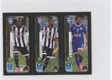 2016 Panini Fifa 365 Album Stickers - The Golden World of Football #671 - Adama Traore, Thomas Ulimwengu, Roger Assale