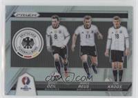 Marco Reus, Mesut Ozil, Toni Kroos