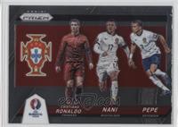 Cristiano Ronaldo, Pepe, Nani