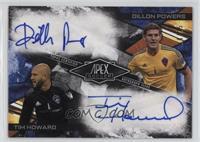 Dillon Powers, Tim Howard /25