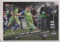 Jordan Morris #/132