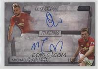 Luke Shaw, Michael Carrick /20