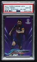 Lionel Messi [PSA10GEMMT] #/250
