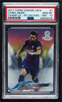 Lionel Messi (Left Arm Out in Front of Body) [PSA10GEMMT]