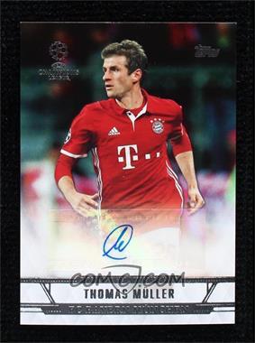 2017 Topps UEFA Champions League Showcase - Autographs #CLA-TM - Thomas Muller