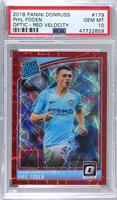 Rated Rookies - Phil Foden [PSA 10 GEM MT] #/50