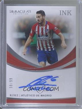 2018-19 Panini Immaculate Collection - INK #I-K - Koke /99