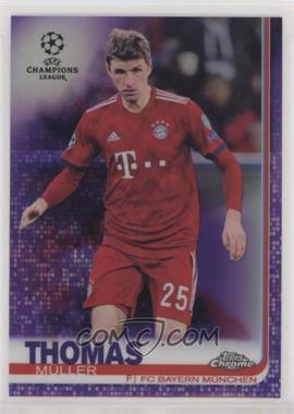 2018-19 Topps Chrome UEFA Champions League - [Base] - Purple Refractor #93 - Thomas Muller /250