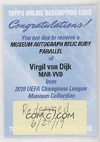 Virgil van Dijk [Being Redeemed] #/25