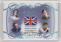 Geoff Hurst, Gordon Banks, Wayne Rooney, Steven Gerrard /25