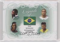 Pele, Ronaldo, Ronaldinho, Neymar Jr.