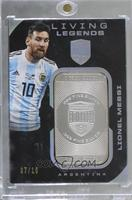 Lionel Messi [Noted] #/10