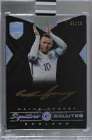 Wayne Rooney [Uncirculated] #/10