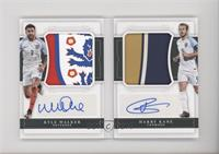 Harry Kane, Kyle Walker #/10