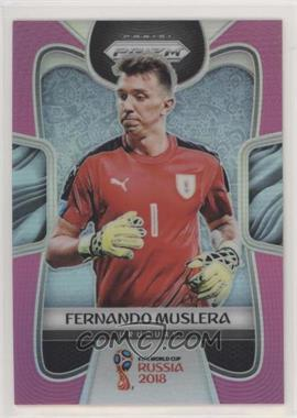 2018 Panini Prizm World Cup - [Base] - National Convention Pink Prizm #212 - Fernando Muslera /8