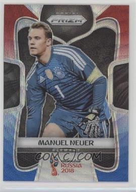 2018 Panini Prizm World Cup - [Base] - Red and Blue Wave Prizm #87 - Manuel Neuer
