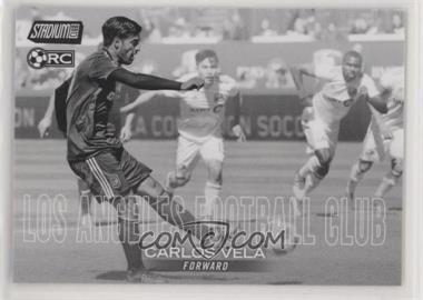 2018 Topps Stadium Club MLS - [Base] - Black and White #33 - Carlos Vela