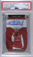 Thierry Henry [PSA 9 MINT] #/25