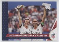 Megan Rapinoe, Alex Morgan #/1,084