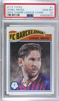 Lionel Messi [PSA 10 GEM MT] #/3,512