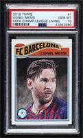 Lionel Messi [PSA10GEMMT] #/3,512