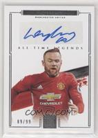 Wayne Rooney #/99