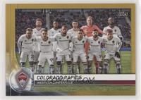 Team Cards - Colorado Rapids #/50