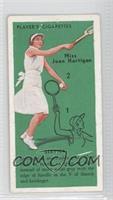 Miss Joan Hartigan (Service)
