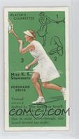 Kathleen Stammers (Forehand Drive)