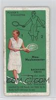 Mme. Meulemeester (Backhand Drive) [Poor]
