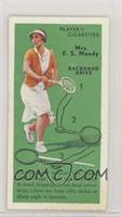 Mrs. F.S. Moody (Backhand Drive)