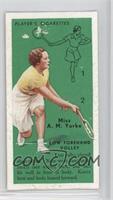 Miss A.M. Yorke (Low Forehand Volley) [PoortoFair]