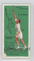 A.K. Quist (Overhead Volley) [Poor]