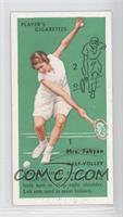 Mrs. Fabyan (Half-Volley)