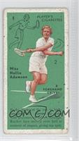 Miss Nellie Adamson (Forehand Drive)