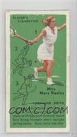 Miss Mary Heeley (Forehand Drive) [Poor to Fair]