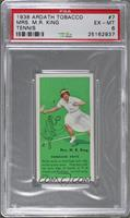 Mrs. M.R. King (Forehand Drive) [PSA 6 EX‑MT]