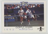 John McEnroe, Michael Stich