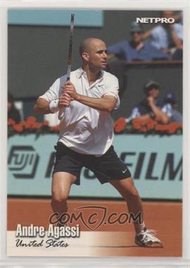 2003 NetPro - [Base] - Glossy #G-15 - Andre Agassi