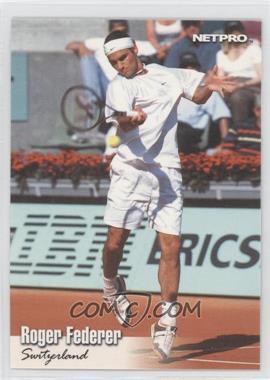 2003 NetPro - [Base] - Gold #G-11 - Roger Federer