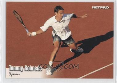2003 NetPro - [Base] - Gold #G-32 - Tommy Robredo
